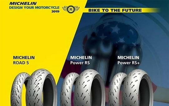 Michelin moottoripyörän renkaita