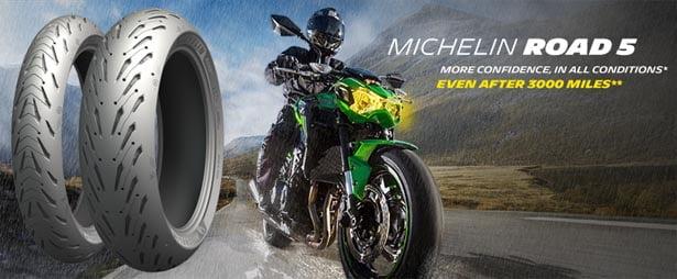 Michelin Road 5 moottoripyörän rengas