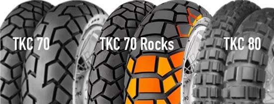 Continental TKC enduro renkaat