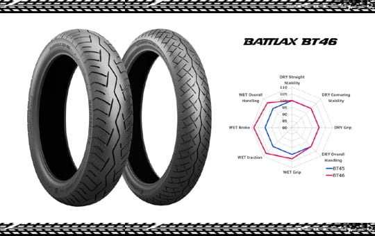 Bridgestone Battlax BT46 - mp renkaat