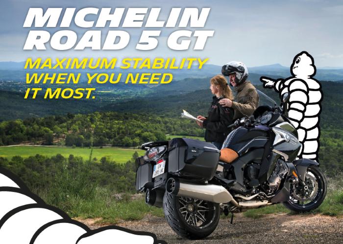 Michelin Road 5 GT nyt saatavilla