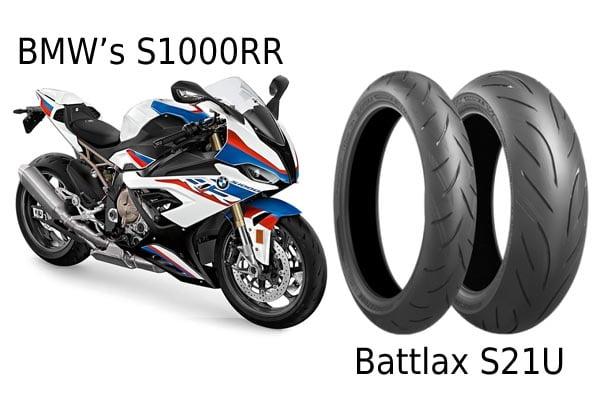 Bridgestone mp renkaat BMW moottoripyörään