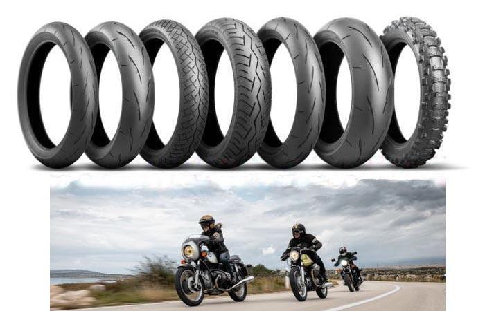 Bridgestone uusia moottoripyörän renkaita