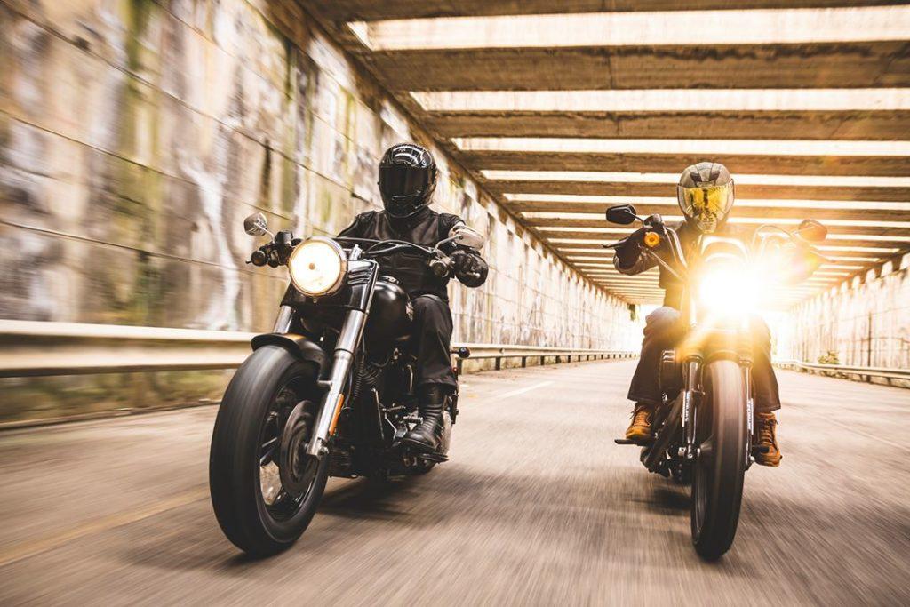 Harley Davidson moottoripyörän renkaat