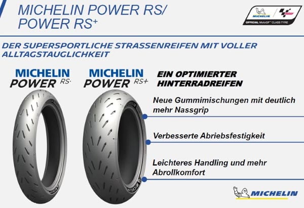Michelin Power RS + mp rengas