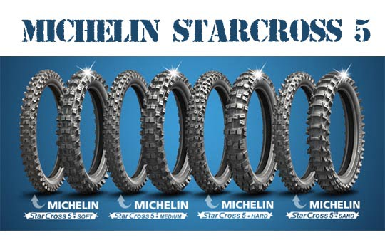 Michelin Starcross crossin renkaat