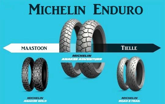 Michelin endurorenkaat netistä