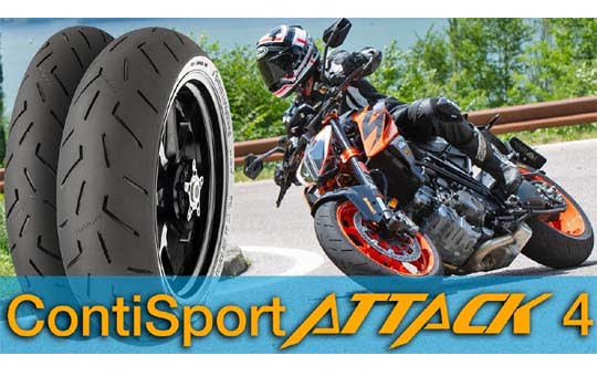 MP rengas Continental Sport Attack 4