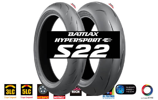 Bridgestone s22 battlax mprenkaat